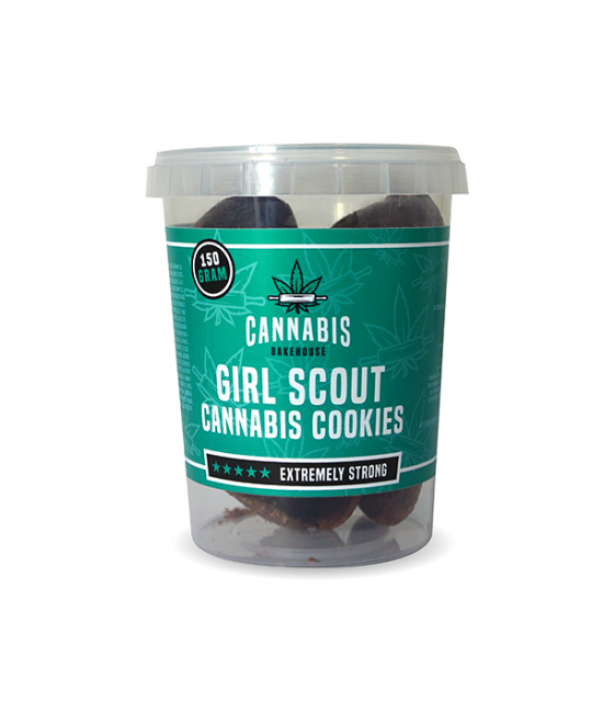 Girl Scout Cannabis Cookies